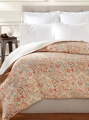 65% OFF Peacock Alley Windsor Duvet (Flame)