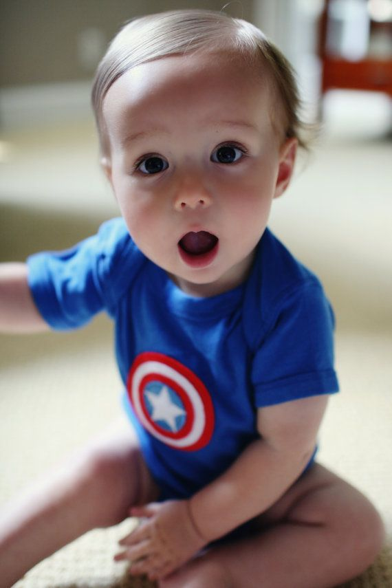 Captain america Avengers and Babies on Pinterest