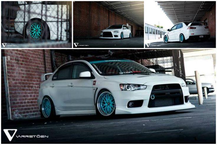 Mitsubishi Evolution X on VarrsToen Wheels – Revolution is Evolution