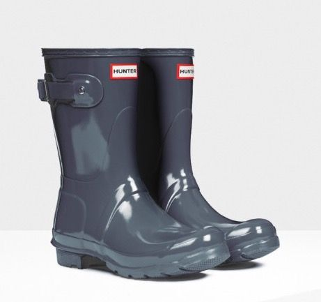 Short Graphite Hunter Boots