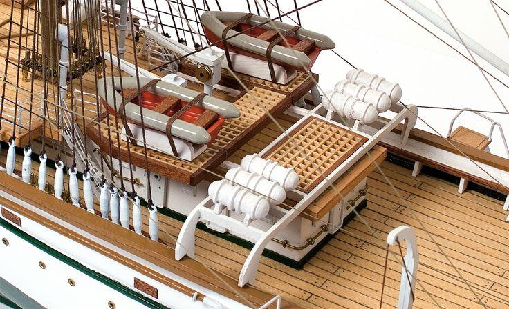 GORCH FOCK. Ship mock-up.