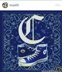 Pin by Jay Caalim on Blueface in 2020   Crip tattoos ...