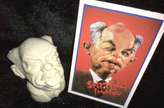 Vintage Mikhail Gorbachev Spitting Image by BunkysVintageCrafts
