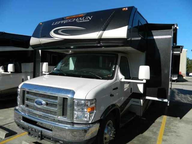 "2016 New Coachmen Leprechaun 260DS Ford Class C in South Carolina SC.Recreational Vehicle, rv, 2016 Coachmen Leprechaun 260DS Ford, 2016 Coachmen Leprechaun 450 Ford 260DS The Coachmen Leprechaun offers you the ""Better Stuff"" discerning RVers require. Owning something ""Better"" is a reflection of you everyone will appreciate. Your family will appreciate the expansive list of standard equipment like back-up camera, power awning, slideroom awning(s) and 50 gallons of fresh water. ""Better""…"