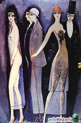 Montparnasse Blues (Kees Van Dongen - vers 1920)