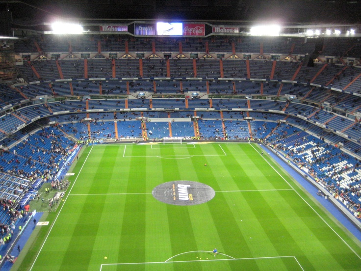 Santiago Bernabéu Stadium, home of Real Madrid CF