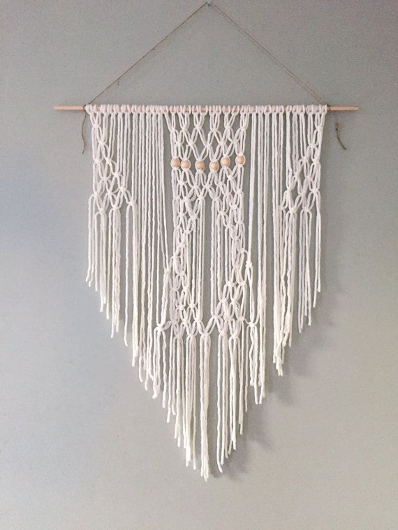 Macrame Wall Hanging by ZimZoo on Etsy