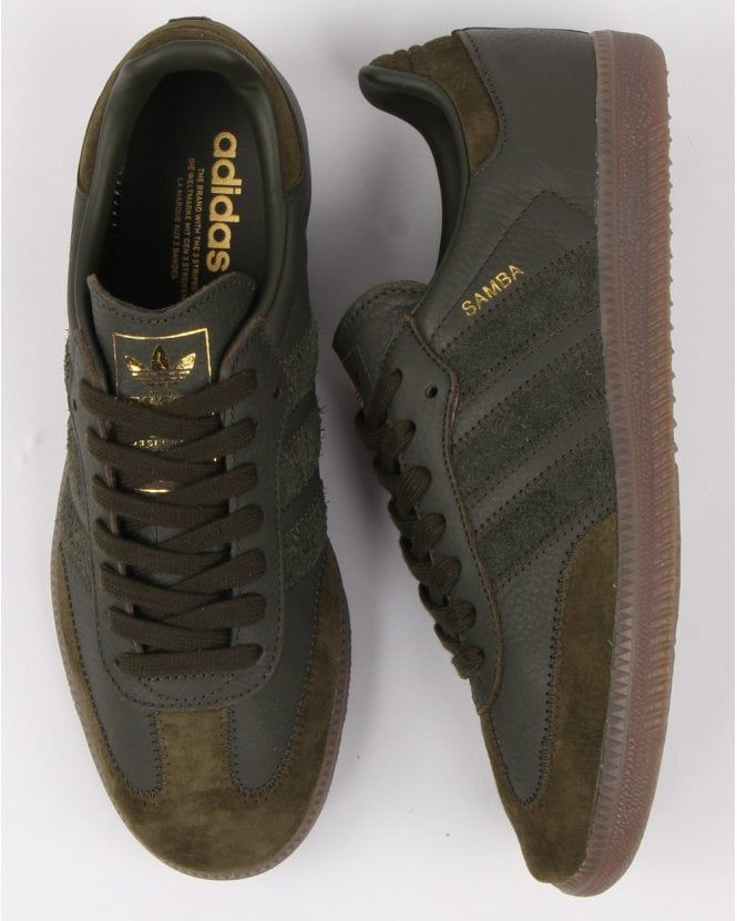 Adidas Samba Og Ft Trainers Night Cargo | Trainers in 2019
