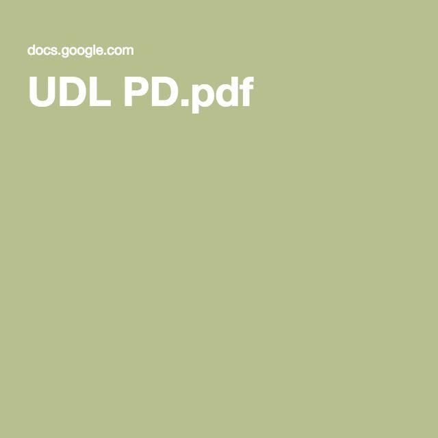UDL PD.pdf
