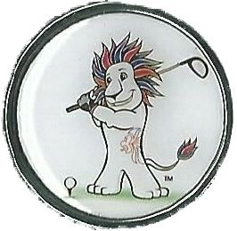 Official Team GB Pride Mascot Golf pin