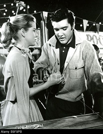 {*Loving You 1957 Paramount Film, With Elvis & Dolores Hart*}