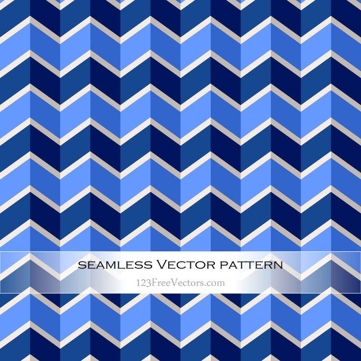 Zigzag Chevron Pattern Background Vector - https://www.123freevectors.com/