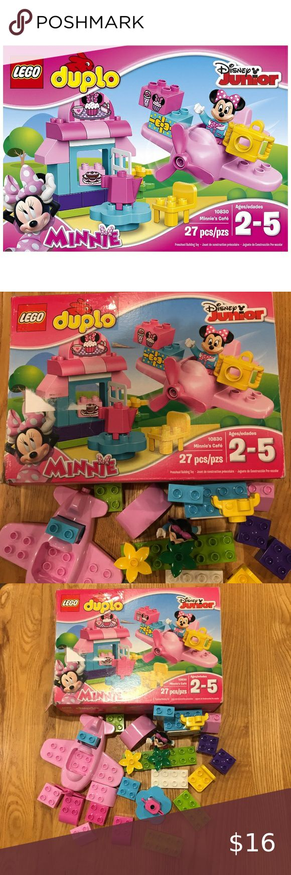 Lego Duplo Disney Junior Minnie Mouse Airplane Set in 2020 ...