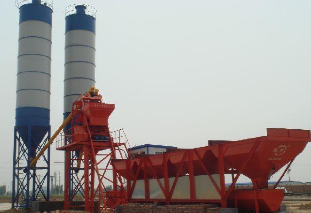 75m3/h ready mix concrete batch plant with lowest price