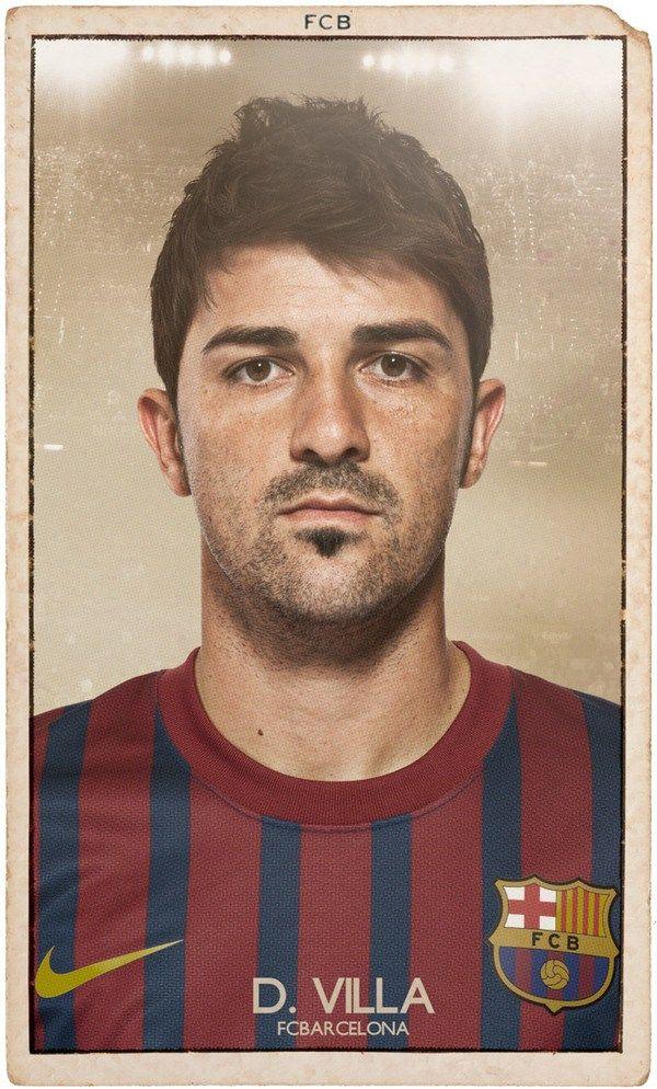 Nice FC BARCELONA Vintage Football Cardsby DIVER & AGUILAR. DIVER & AGUILAR