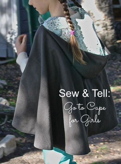 Sew and tell - the Go to Cape for Girls! | Go To Sew