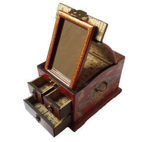 TilaVie Lemari Perhiasan Kaca Kotak