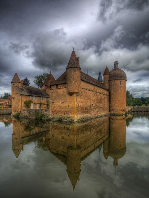 Chateau la Clayette - bourgogne France