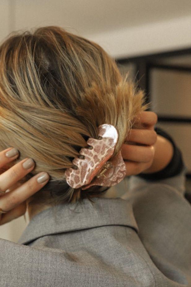 Shell Hairclip Vintage Frisuren Haarklammer Haare