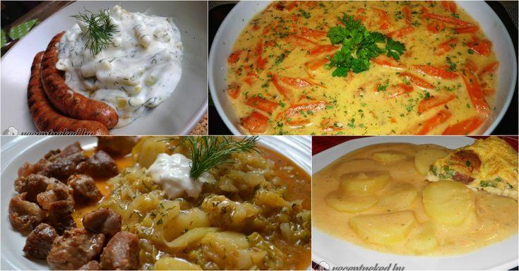 Főzelékek nélkül nincs magyar konyha! Összegyűjtöttünk hát 10 szuper receptet, amit megéri megfőzni még tavasszal!