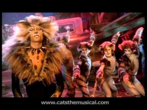 The Rum Tum Tugger - starring John Partridge. HD, from Cats the Musical - the film.