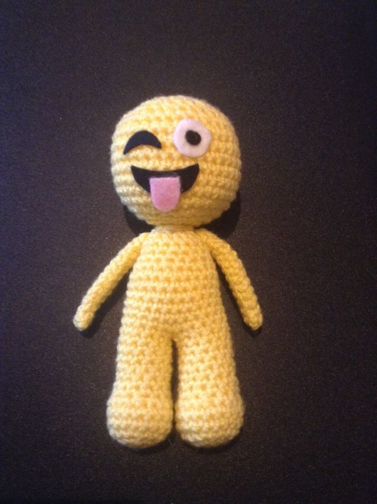 A personal favourite from my Etsy shop https://www.etsy.com/uk/listing/269493304/emoji-inspired-doll-emoji-man