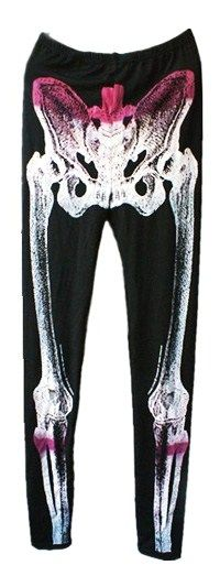 Skeleton stockings