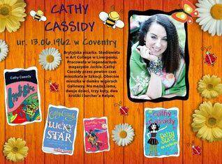 Cathy Cassidy ur. 13.06.1962 roku
