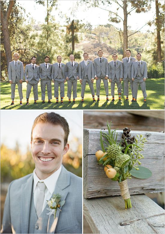 groomsman boutonniere ideas  http://www.weddingchicks.com/