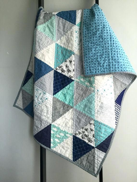 Image Result For Blue Gray Baby Quilt Modern Baby Quilt Baby Boy Quilts Boy Quilts