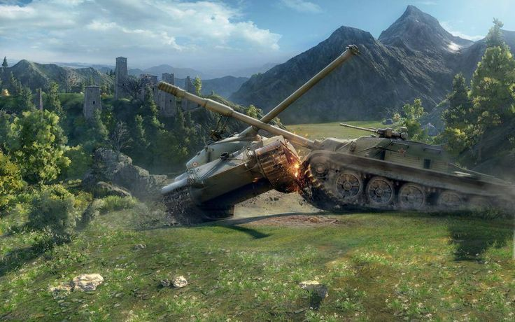 WORLD OF TANKS is one of the most played MMOs ever: join epic battles among tanks from different nations.