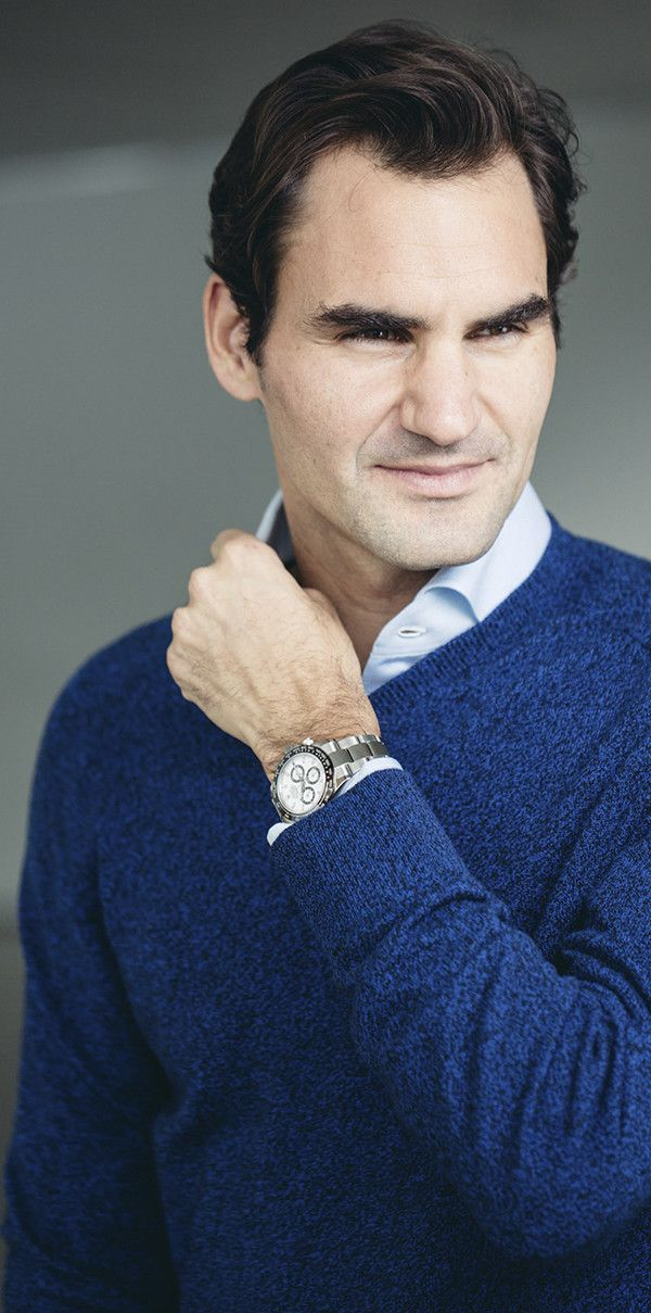 The 904l Roger Steel Cosmograph Wearing Daytona Federer roWedxBC