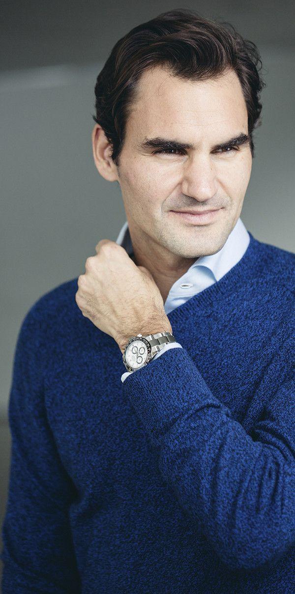 904l Federer Daytona Roger The Steel Cosmograph Wearing Yy7f6vgIb