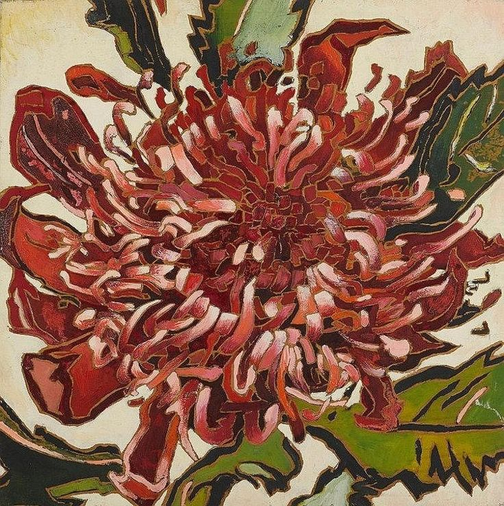 Waratah, 1979, by Cressida Campbell (Australia)