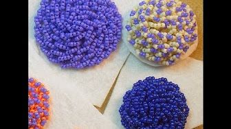 Hand Embroidery Company Beading Tutorial - YouTube