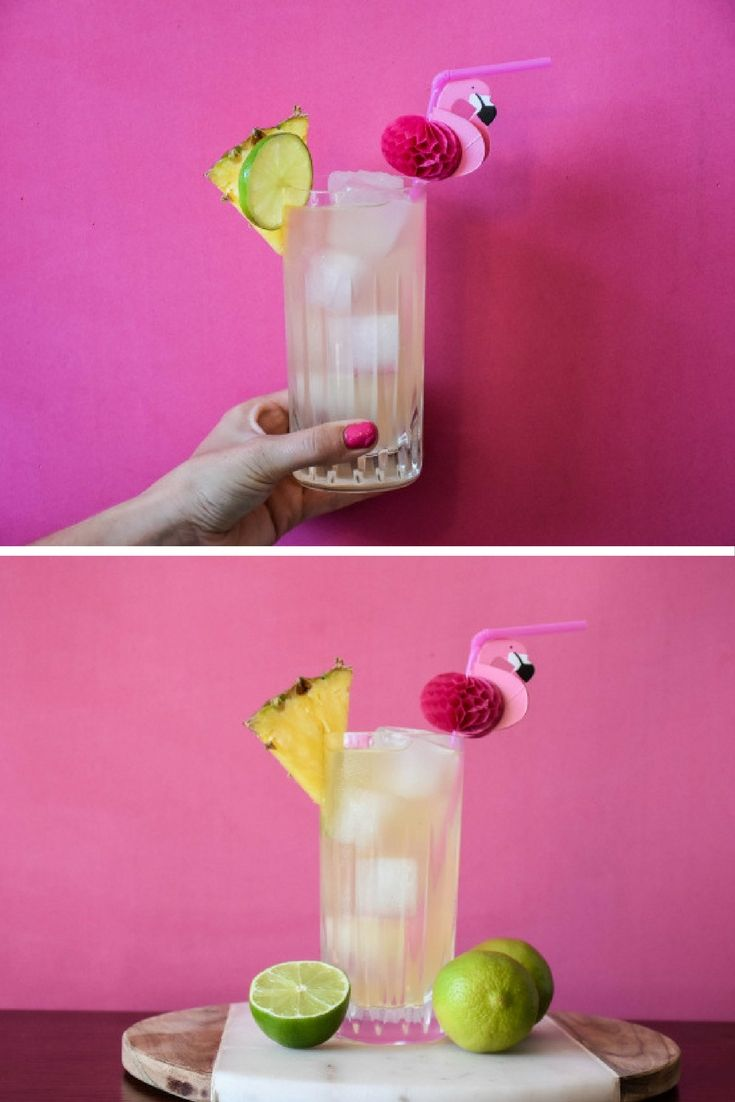 With dry January coming to an end, we thought we would put together something tropical and pumped with vitamin C to beat the cold weather.  This Pina Colada mocktail can be served to everyone and on any occasion as it's alcohol-free.