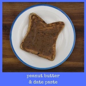 A kid friendly Peanut Butter & Date Paste Toastie for a post school healthy snack... from www.kellyfrancis.co.za