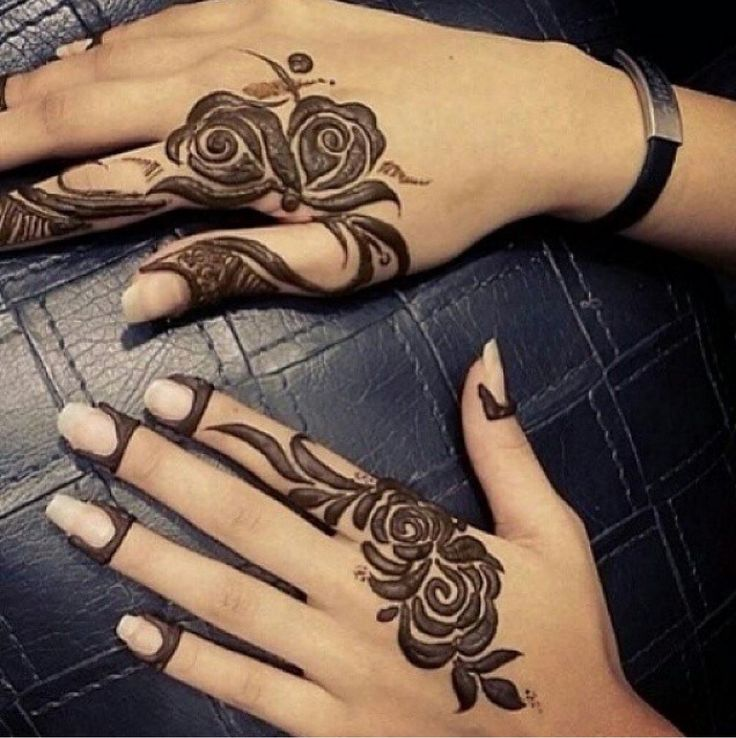 Rose Henna Tattoo Designs On Wrist Small: 641 Best .henna Designs. Images On Pinterest