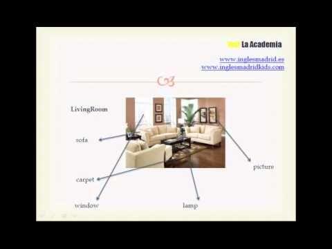 Aprende vocabulario sobre la casa con este vídeo para niños y adultos. Yes! La Academia. www.inglesmadrid.es