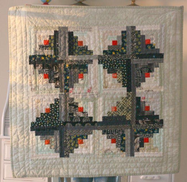 106 best Log Cabin Quilts images on Pinterest | Log cabin quilts ... : log cabin style quilts - Adamdwight.com