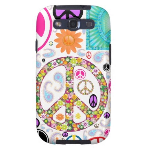Collage of Peace Samsung Galaxy S3 Case.  $41.40