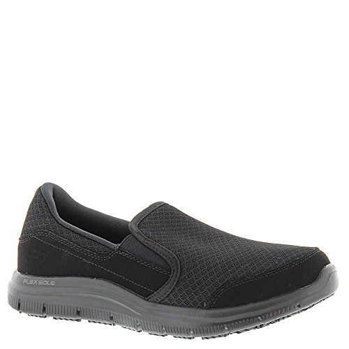 2017 Boots Skechers Work Relaxed Fit Cozard SR Womens Slip On Loafers B...