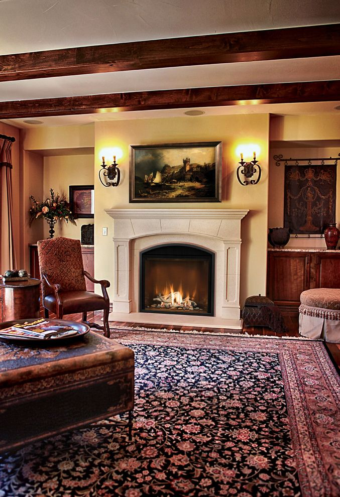 Chadds Ford Fireplace Interior Design Photos Gallery