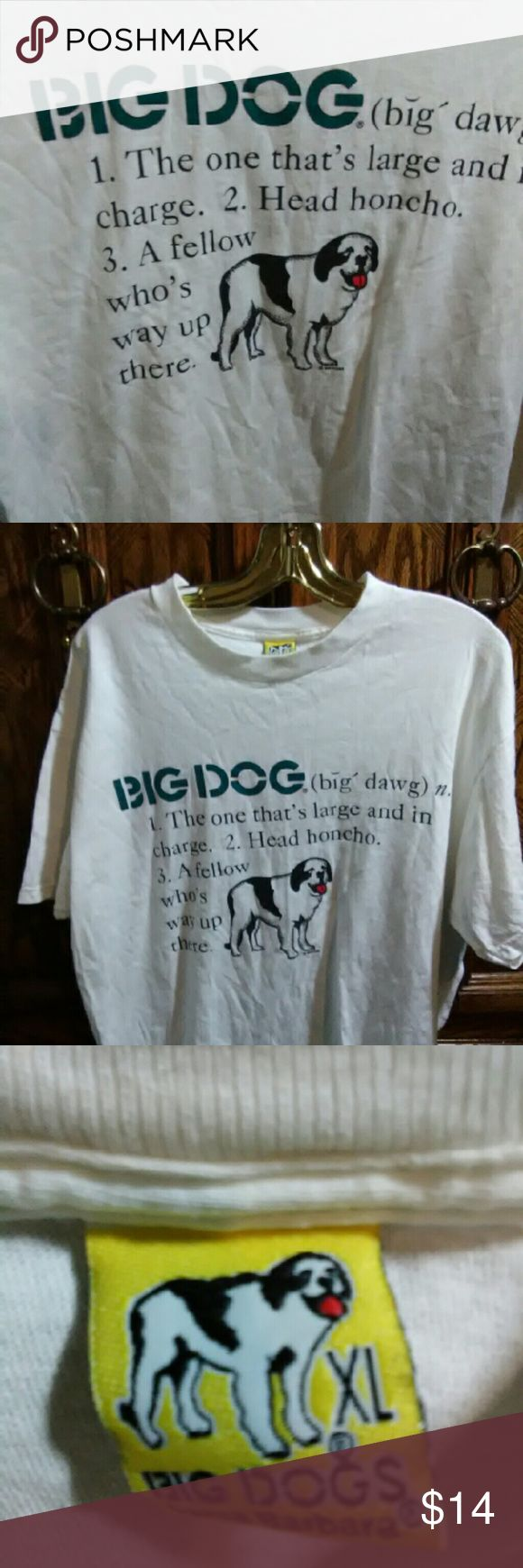 Black dog t shirt ebay - Big Dogs Vintage T Shirt Size Xl No Tags Big Collector Vintage Big