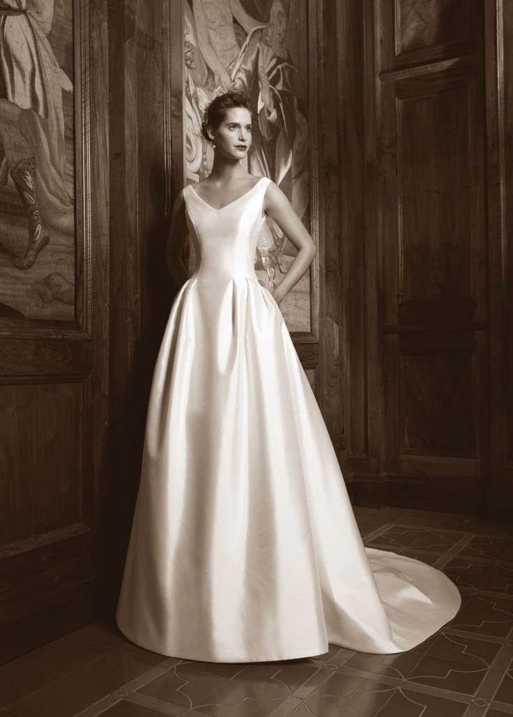 ROBE DE MARIEE IGUELDO Créateurs Vente robes et accessoires de mariée Marseille - Sonia. B