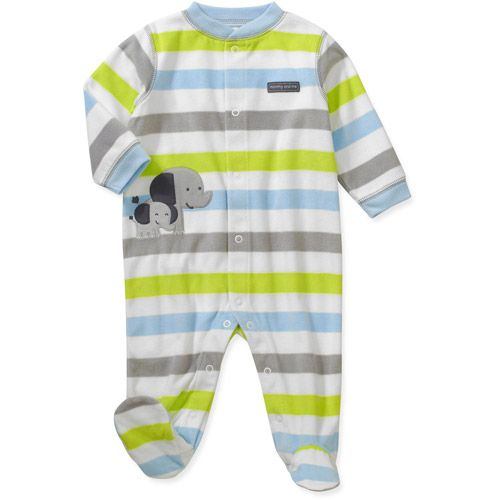 Child Of Mine By Carters Newborn Boys Stripe Elephant