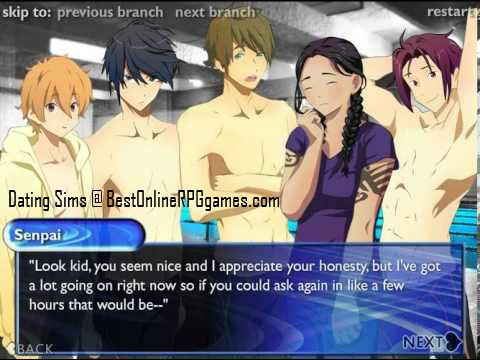Anime dating sim online