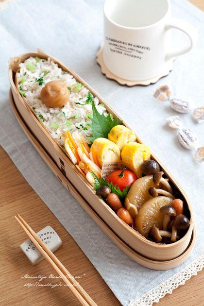 ほっこり♪大根づくしの冬弁当。|あ~るママオフィシャルブログ「毎日がお弁当日和♪」Powered by Ameba
