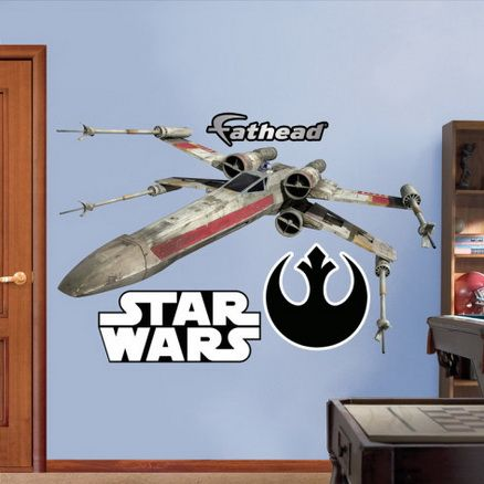 Stunning Star Wars X Wing Fighter Movie Wall Decal