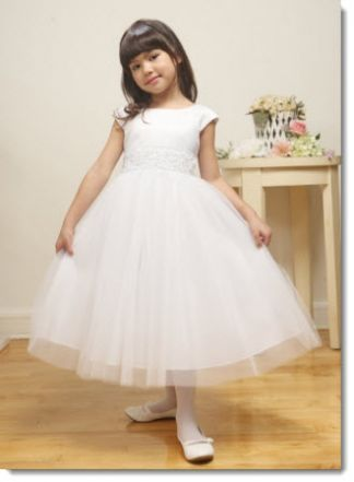 flower girl christening communion gowns